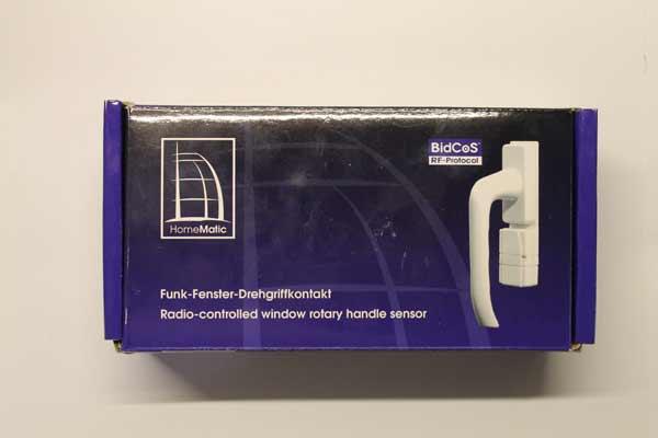 Verpackung des Funk-Fenster-Drehgriffkontakt-HM-Sec-RHS