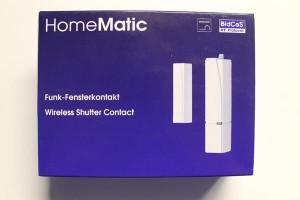 Verpackung des HomeMatic Türkontakt-Fensterkontakt HM-Sec-SC