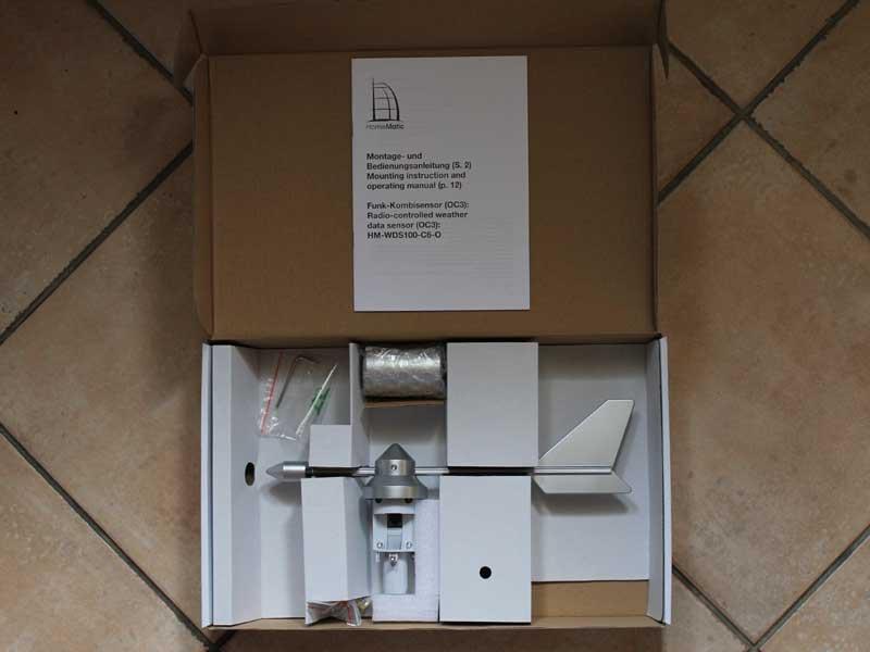funk wetterstation homematic oc3 hausautomatisierung. Black Bedroom Furniture Sets. Home Design Ideas