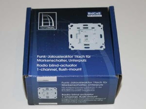 HomeMatic Rolladenaktor Verpackung