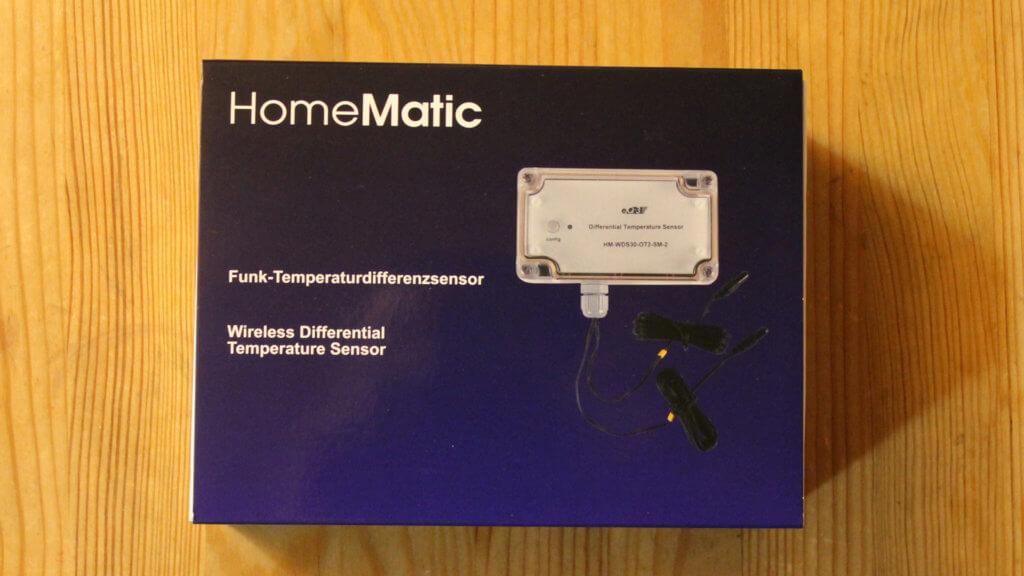 Frontseite der Verpackung des Temperatur-Differenz-Sensor